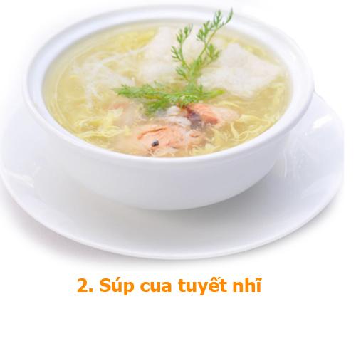 súp cua tuyết nhĩ