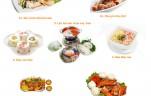set menu 10