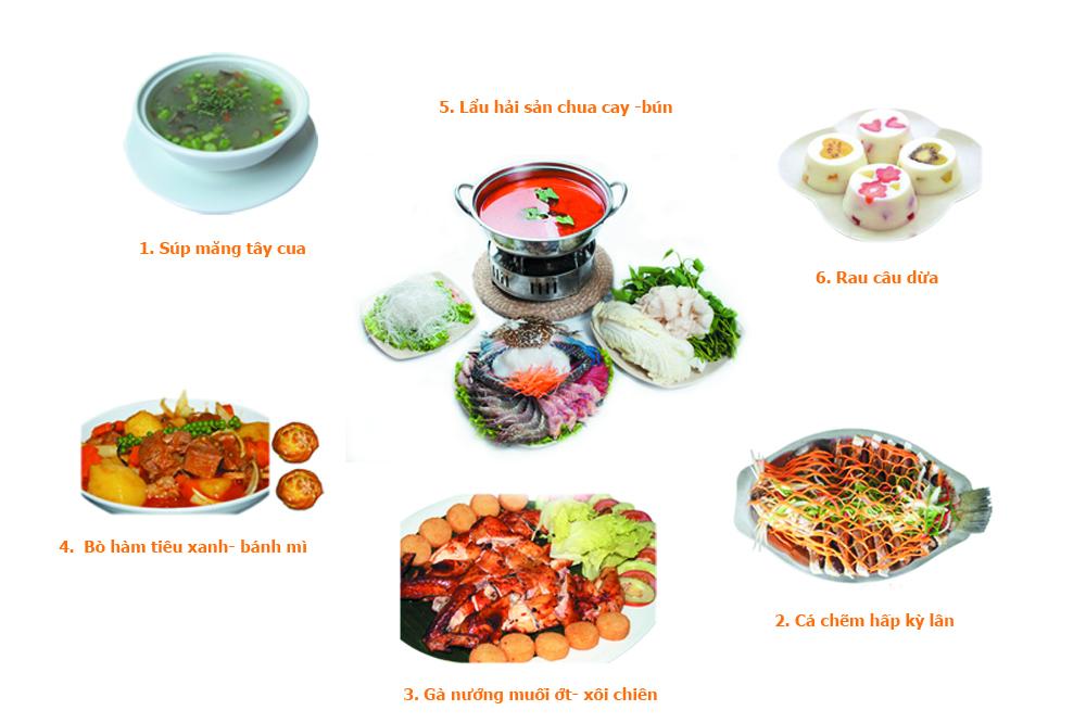 set menu 2