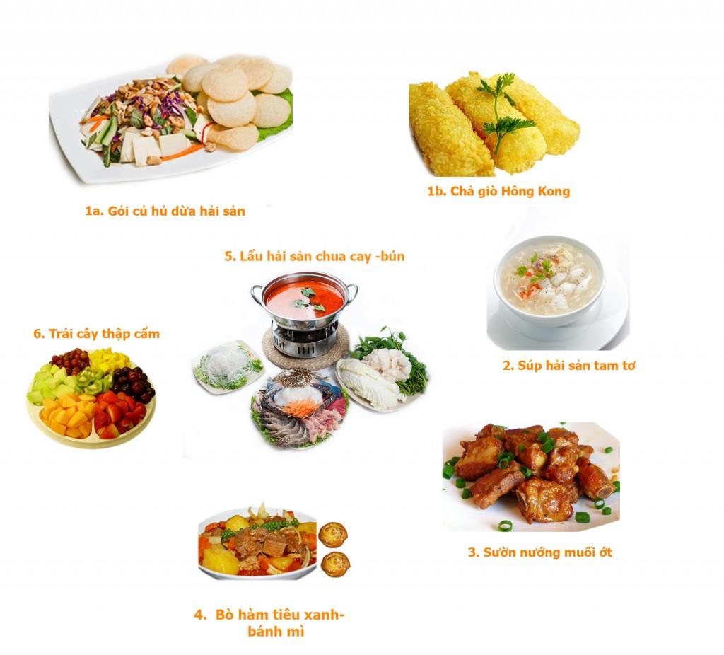 set menu 6