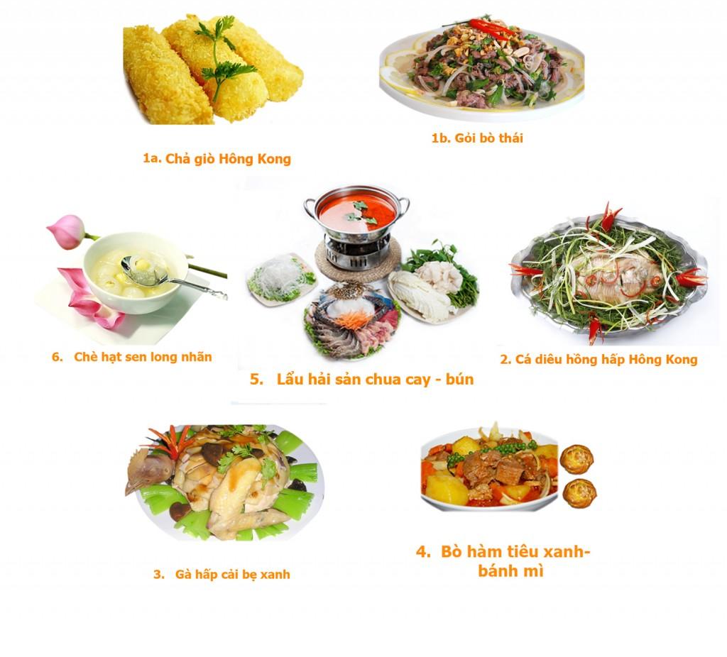 set menu 7