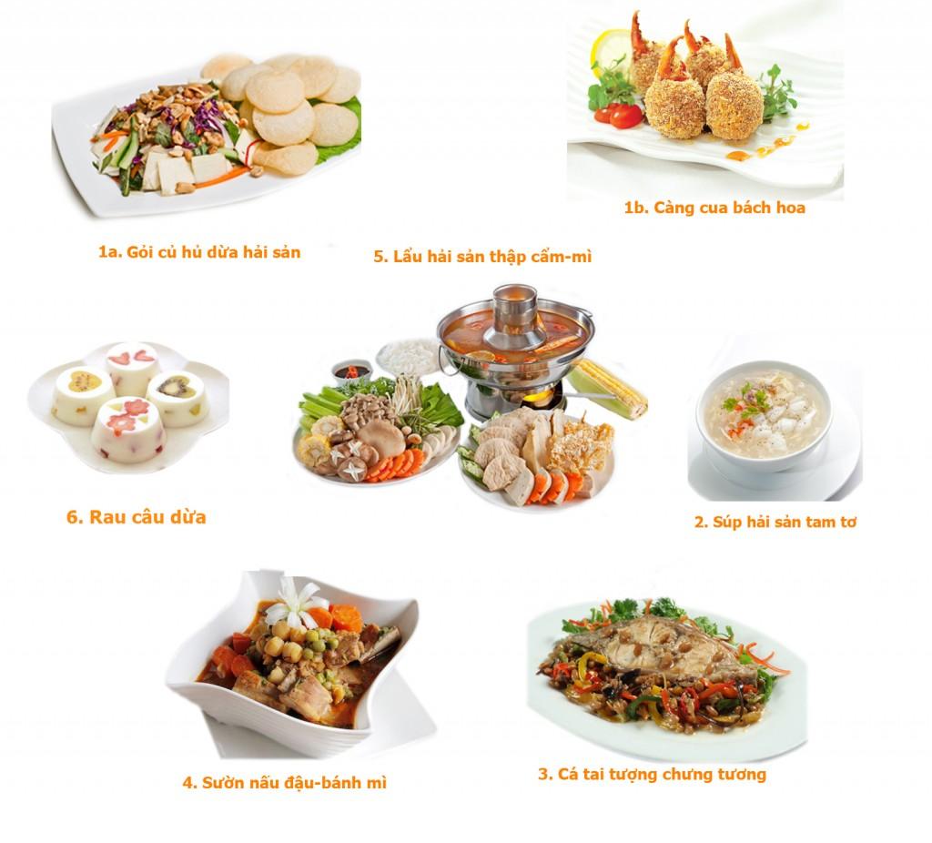 set menu 8
