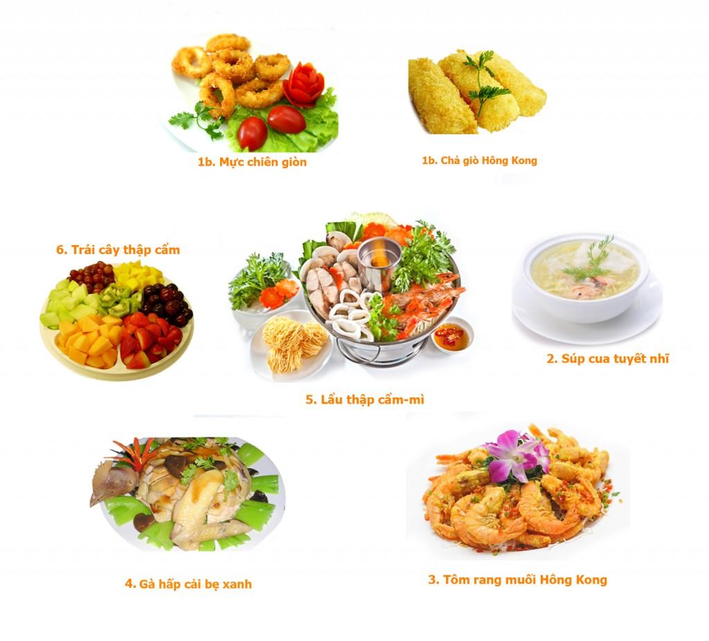 set menu 9