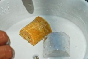 Cắt nhỏ và nhúng bột - Thực phẩm An Tâm