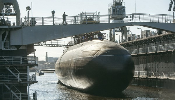 Hình ảnh tàu ngầm khi còn ở nhà máy đóng tàu của Nga - Thực phẩm An Tâm
